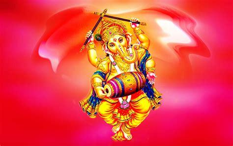 lord ganesha indian dancing desktop hd wallpaper  mobile phones tablet  pc