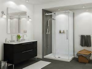 glass shower doors installation salle de bain lacroix d 233 cor