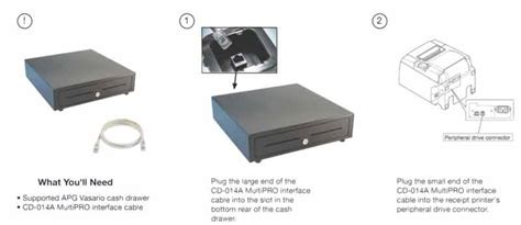 Drawer Interface Cable by How To Connect A Printer And Vasario Drawer To