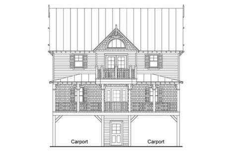 inverted floor plan page 2 of 6 coastal home plans