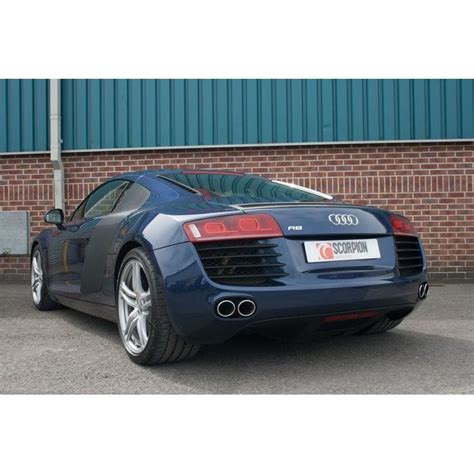 Audi R8 Auspuff by Audi R8 V8 Cat Back Valvetronic 3 Quot Exhaust