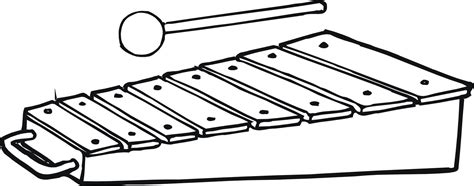 free coloring pages of xylophone toy coloring pages children s best activities