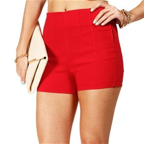Highwaist Zipper Side Acid Snow high waisted side zip shorts on wanelo