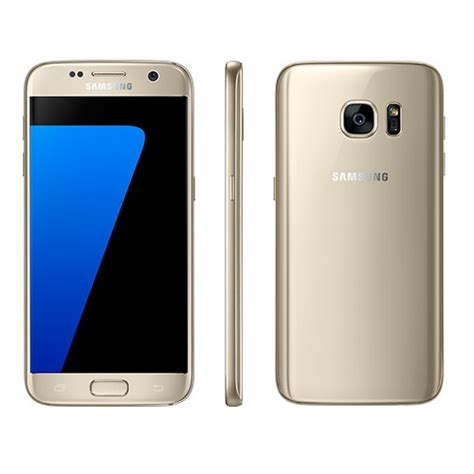 Samsung S7 Gold mobile phone samsung galaxy s7 flat gold smg930g 361