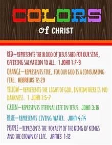 what does the color blue in the bible colors of meanings free printable detail
