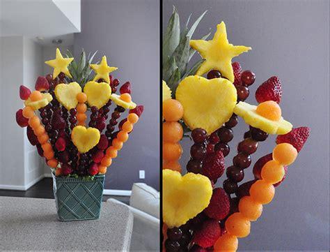 fruit arrangements diy diy edible arrangement the daily goodie bag