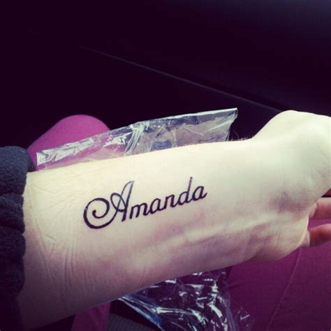 35 stunning name wrist tattoo designs