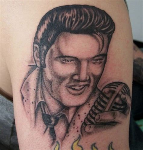 elvis tattoo elvistattoo2 no no shame