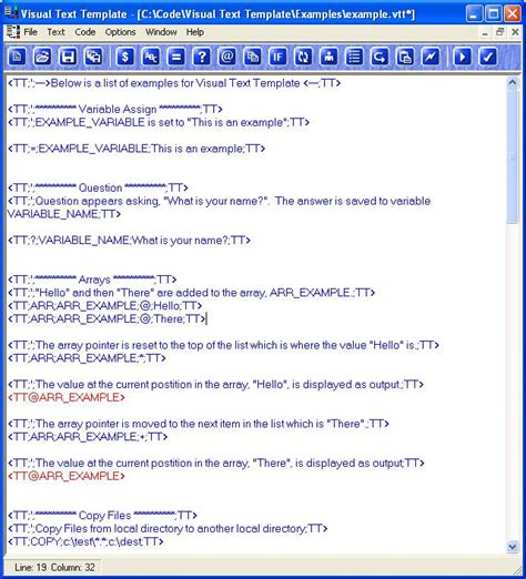text templates visual text template create and edit templates
