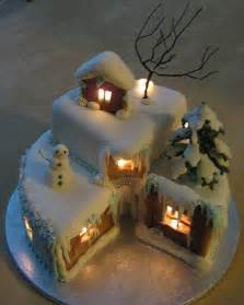 let there be light in your christmas cake the