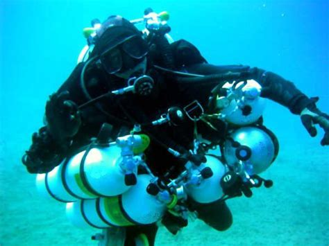 tech dive technical pro technical diver