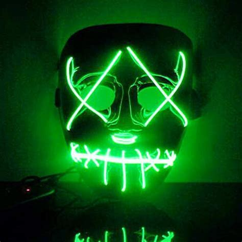 Masker Led get cheap purge costume aliexpress alibaba