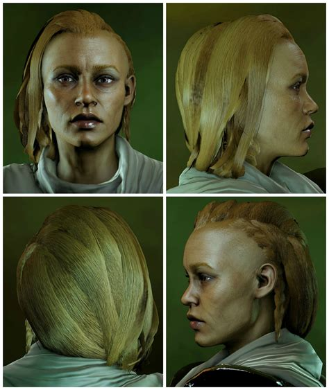 inquisition new hairstyles long braid with messy hair at dragon age inquisition