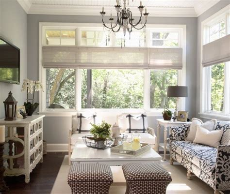 gray blue paint colors cottage living room benjamin wickham gray martha o hara