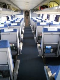 amtrak seat types the california zephyr the coach