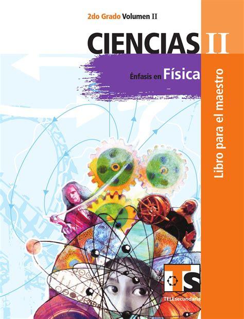 nuevo libro para el maestro matemticas 2 grado sep maestro ciencias 2o grado volumen ii by rar 225 muri issuu