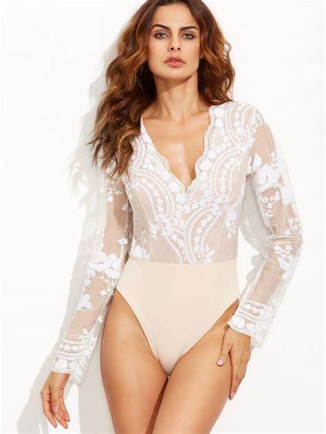 Sleeve Sheer Bodysuit best 25 sleeve bodysuit ideas on