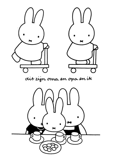Coloring Page Miffy Coloring Pages 20 Miffy Coloring Pages