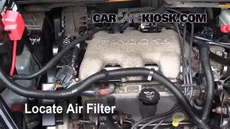 Instrucciones Para Cambio De Filtro De Aire De Motor De
