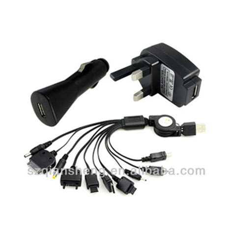 universal retractable 10 in in 1 usb to multi cell 10 in 1 universal multi usb charger cable for psp mobile