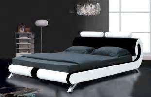 Paris leather bed designer leather bed