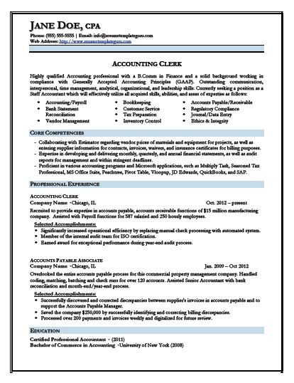 what is the best resume format for darlene keyword optimized junior accountant resume template