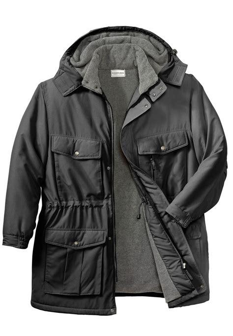 Best Seller Jaket X Coklat big and solid hooded parka jacket by boulder creek 174 big and top sellers king size