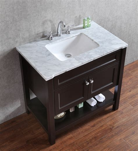 36 Single Sink Bathroom Vanity Atlas International Inc Seacliff Mayfield 36 Transitional Single Sink Bathroom Vanity In