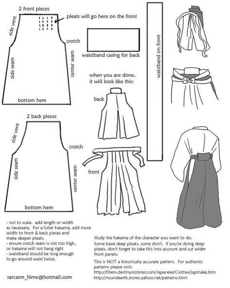 drafting kimono pattern parts of a traditional kimono drafting a hakama pattern