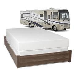 serenia sleep 8 inch memory foam rv mattress