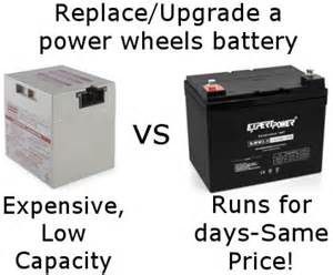 Jeep Hurricane Battery Upgrade How To Upgrade A Power Wheels Battery Longer Lasting