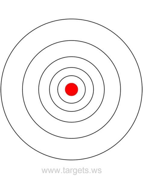 bullseye template printable targets print your own bullseye shooting targets