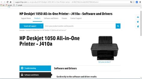 cara resetter printer hp deskjet 1050 cara download driver printer hp 1050 youtube