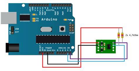 arduino with mma7455 using i2c