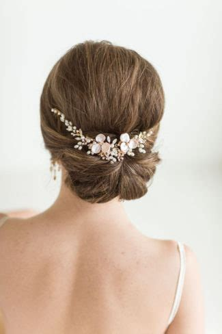 updo swag 16 stunning bridal headpiece alternatives to a veil