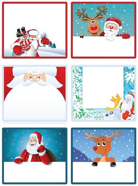 imagenes navideñas regalos imprime tus etiquetas de navidad gratis para los regalos