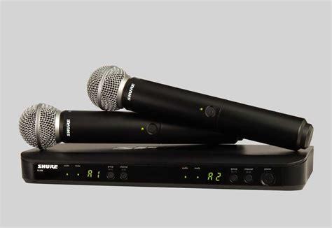 Mic Wireless Shure Blx 8 Free Hardcase 1 shure blx dual wireless mic system w sm58 x2 pro audio supplies