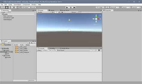 unity folder layout an introduction to game audio scripting in unity part 1