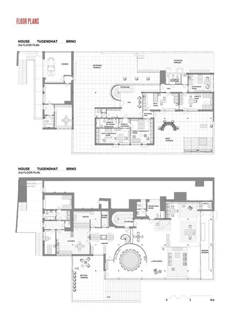 New House Plans With Interior Pictures by Tugendhat Villa Brno Mies Van Der Rohe E Architect