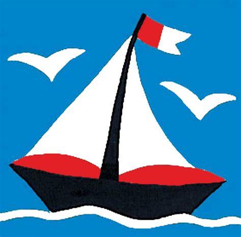 dessin bateau rouge canevas kit canevas enfants petit bateau en vente sur