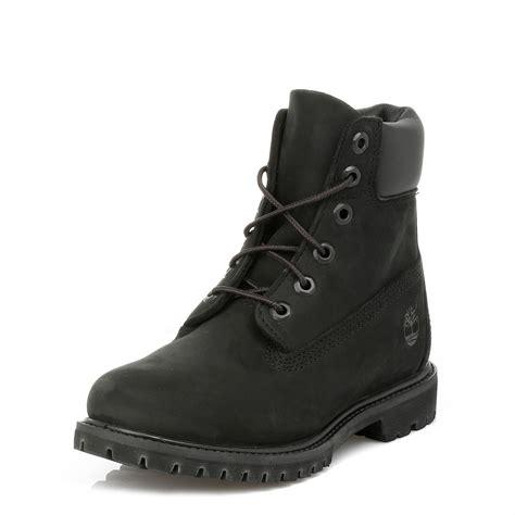 timberland womens black premium 6 inch boots co uk