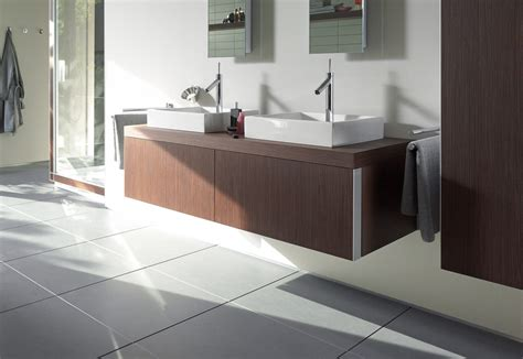 Starck washbasin double vanity unit by Duravit   STYLEPARK