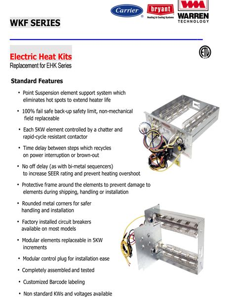 payne air conditioner parts list 15 kw heat strip for carrier bryant payne air handlers