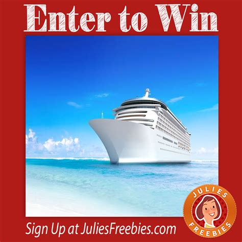 Win For Life Sweepstakes - win a cruise for life sweepstakes julie s freebies