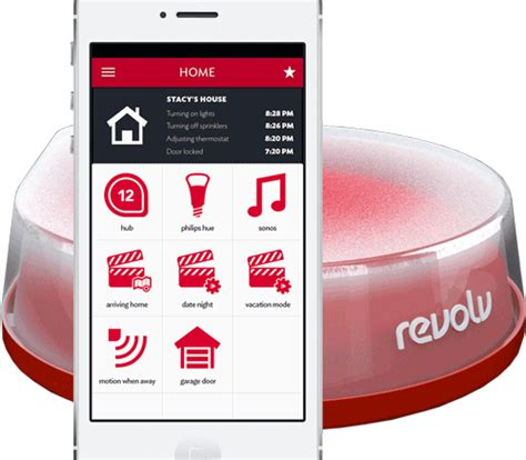 revolv sexy home automation automated home