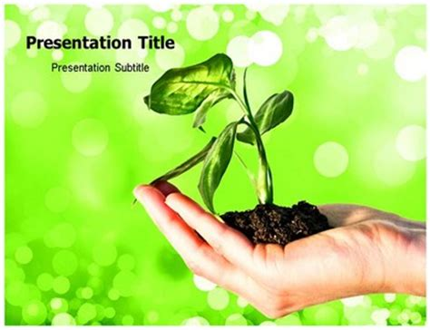 powerpoint themes soil powerpoint template on plant and soil plant and soil ppt