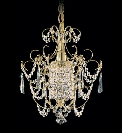 schonbek century single light chandelier ls