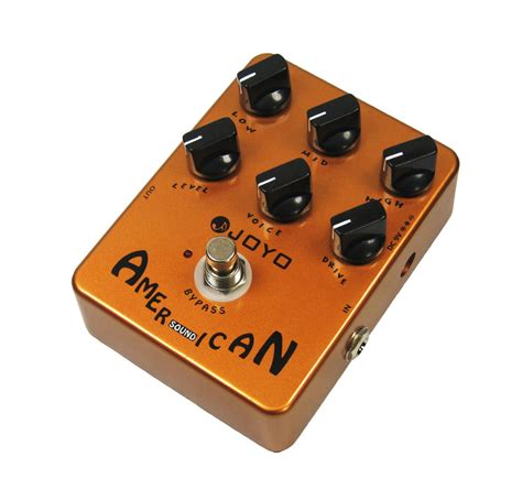Joyo Jf 14 American Sound Guitar Simulator Effects Pedal Lifier Voi joyo jf 14 american sound effect guitar pedal with fender