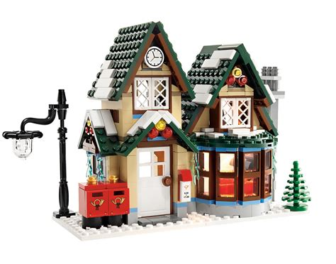 Winter Post Office by Bricks In Suit 10222 Winter Post Office