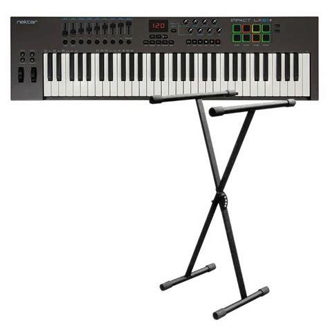 midi keyboard controller stand nektar new jersey sound nektar impact lx61 usb midi